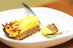kräm- ägg för cake Royaltyfria Bilder