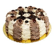Kräm- cake Royaltyfri Foto