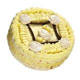 Kräm- Cake Arkivbild