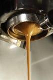 kräm- espresso Royaltyfri Fotografi