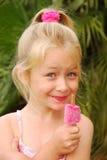 kräm- is för barn royaltyfri foto