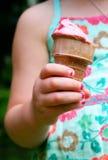 kräm- is för kotte Royaltyfria Bilder