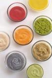 Kräm från många böna och grönsak Arkivfoto