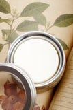 kräm- hud för omsorg Fotografering för Bildbyråer