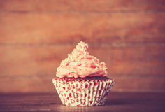 Kräm- kaka. Royaltyfri Fotografi