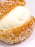 kräm- muffin Royaltyfri Bild