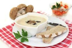Kräm- soppa för kalvkött royaltyfria bilder