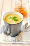Kräm- soppa för potatis arkivbild