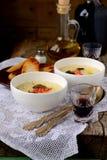 Kräm- soppa för potatis Royaltyfri Fotografi
