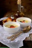 Kräm- soppa för potatis Royaltyfria Bilder