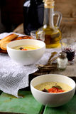 Kräm- soppa för potatis Royaltyfri Bild