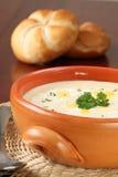Kräm- soup för grönsak Arkivbild