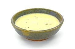 kräm- soup för selleri Royaltyfri Fotografi