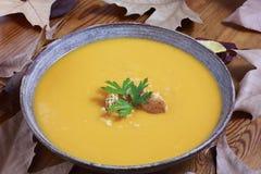 kräm- soupgrönsak Royaltyfria Bilder