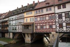 Krämerbrücke Erfurt Stock Images