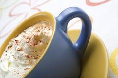 krämigt kaffe Arkivbild
