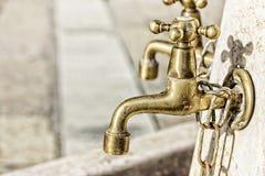 Kräne für waschende Hände Stockbild