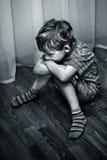 kränkt barn Royaltyfri Foto