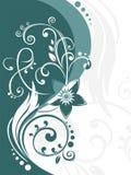 Kräuselt Hintergrund Stockbild