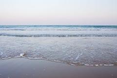 Kräuselung des Meeres Stockfoto