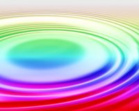 Kräuselungen des Regenbogen-1 lizenzfreie abbildung