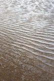 Kräuselungsstrandwasser Stockbild