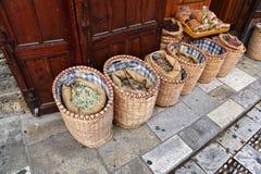 Kräuter und Gewürze, Byblos Stockbild