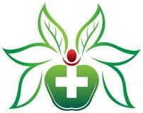 Kräutergesundheitswesen lizenzfreie abbildung