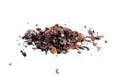Kräutertee der roten Beere (Tisane) mit den rooibos - lokalisiert Lizenzfreie Stockfotografie