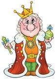król Zdjęcie Stock