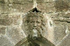 król do ściany Zdjęcie Royalty Free