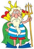 króla morza ilustracji