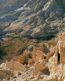 królestwo guge ruin Zdjęcia Royalty Free
