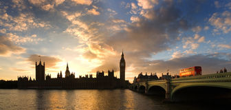 królestwo London zlany Westminster Obraz Royalty Free