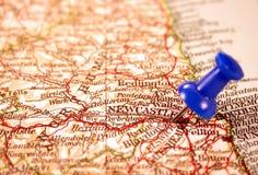 królestwo Newcastle jednoczący obraz stock