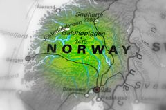 Królestwo Norway zdjęcie royalty free