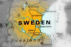 Królestwo Szwecja obrazy royalty free