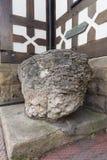 Królewiątka Arthurs kamień Ruthin Walia Zdjęcie Royalty Free