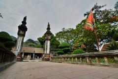 Królewiątka Dinh Tien Hoang świątynia Hoa Lu Ninh Binh prowincja Wietnam zdjęcie royalty free