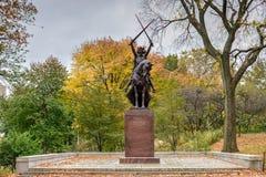 Królewiątka Jagiello zabytek NYC - central park - obraz royalty free