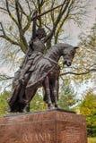 Królewiątka Jagiello zabytek NYC - central park - obrazy royalty free