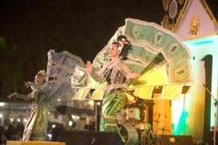 Królewiątka Ka losu angeles tancerz jest Północnym tradycyjnym Tajlandzkim tanem Obraz Royalty Free