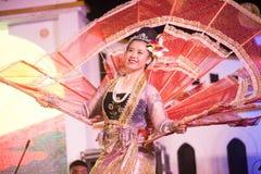 Królewiątka Ka losu angeles tancerz jest Północnym tradycyjnym Tajlandzkim tanem Fotografia Stock