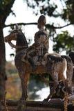 Królewiątka Rama V Equestrian zabytek obraz stock