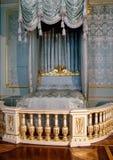 Królewiątka ` s łóżko zdjęcia royalty free