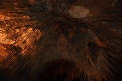 Królewiątka Soloman jama w gramocząsteczki zatoczce, Tasmania fotografia stock
