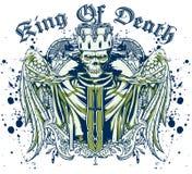 Królewiątko śmierć ilustracja wektor