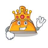 Królewiątko śmietniczki charakteru kreskówki styl Obraz Royalty Free