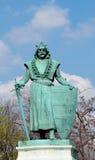 Królewiątko brązowa statua na bohaterach Obciosuje w Budapesht, Węgry Obrazy Stock
