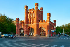 Królewiątko brama Kaliningrad Obrazy Royalty Free